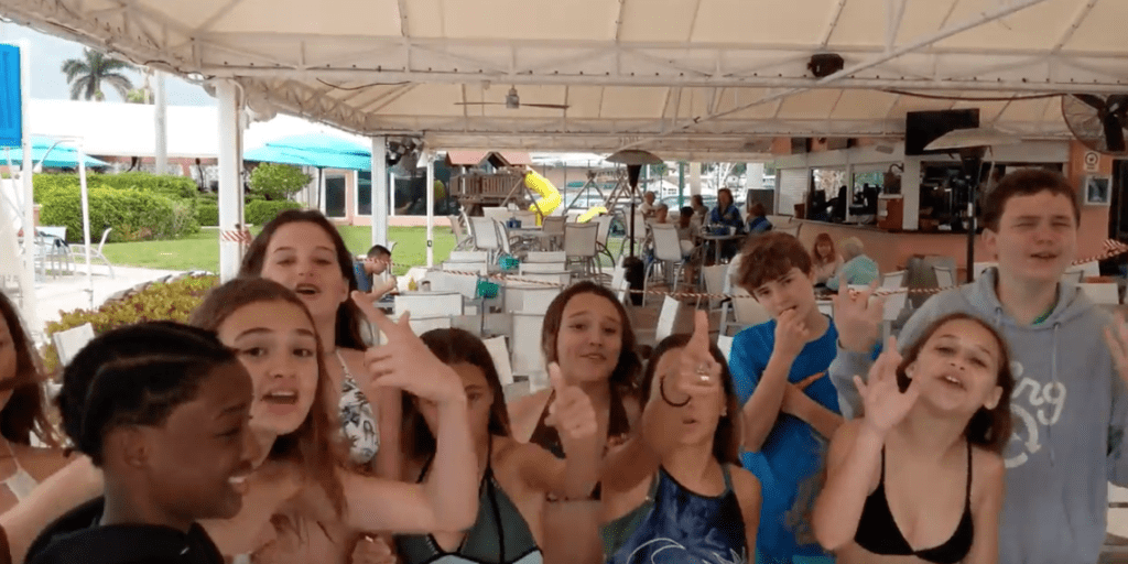 Country club 13th birthday party at Coral Ridge Yacht Club